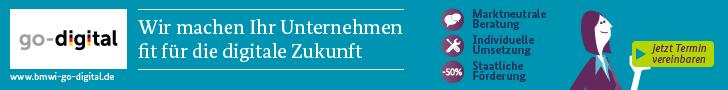 Partner im go-digital Programm vom Bundesministerium für Wirtschaft für KMUs